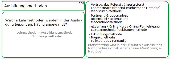 Lernkarten-Muster zur Fragetechnik