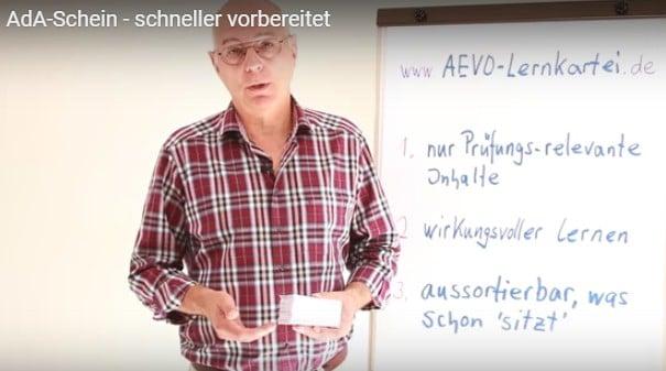 Vorbereitung auf die Ausbildereignungsprüfung mit Hilfe der AEVO-Lernkartei