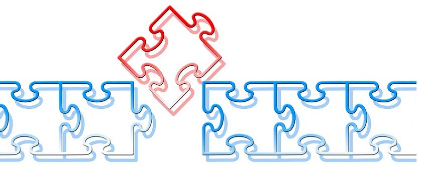 Puzzleteile als Symbolbild: Das Modell der vollständigen Handlung ist für Ihren AdA-Schein wichtig!