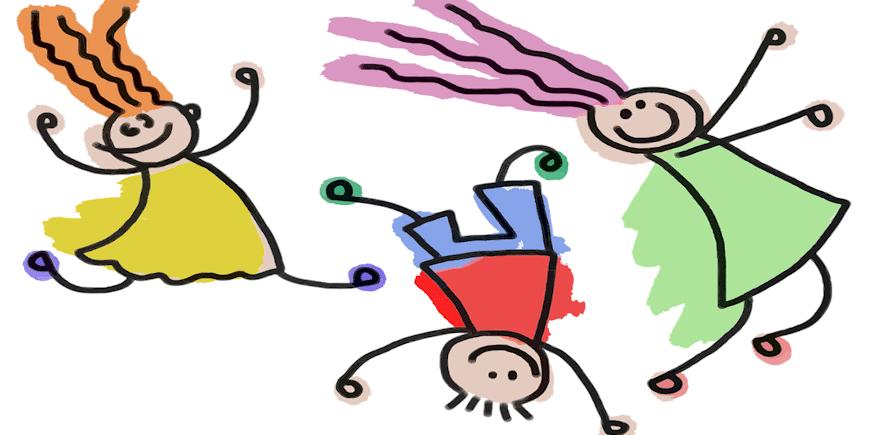 drei Strichmännlein als Symbolbild: Wie sollte Ihr Unterweisungsentwurf für die Ausbildereignungsprüfung aussehen?