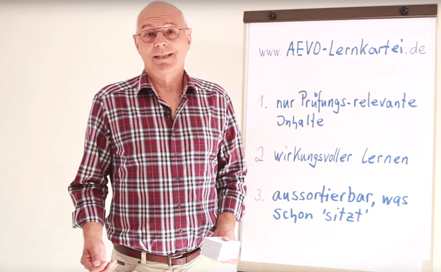 Die AEVO-Lernkartei stammt von einem AEVO-Experten